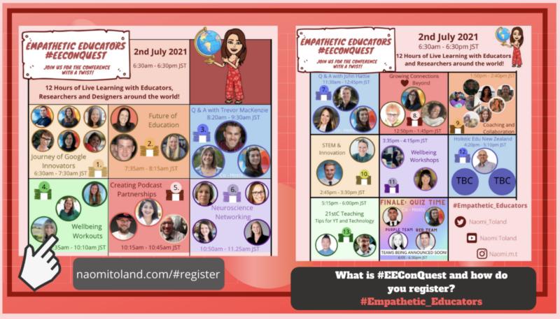 #EEConQuest, (Empathetic Educators Conference Quest)