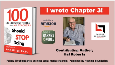 Contributing author to Chapter 3 in 100 No-Nonsense Things that All Teachers Should Know