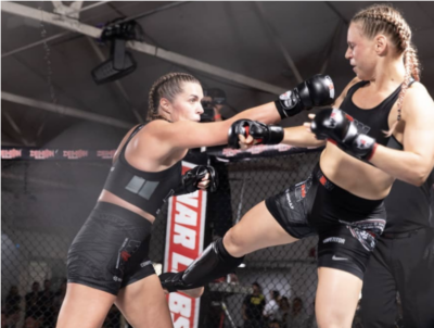 Naomi Toland in 20 weeks with Wimp 2 Warrior to have an MMA fight