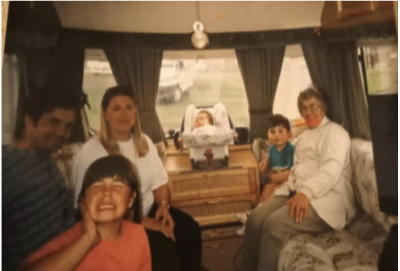 Naomi Toland's family