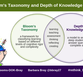 Bloom's Taxonomy and Depth of Knowledge (DOK)