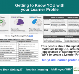 Getting to Know YOU with your Learner Profile