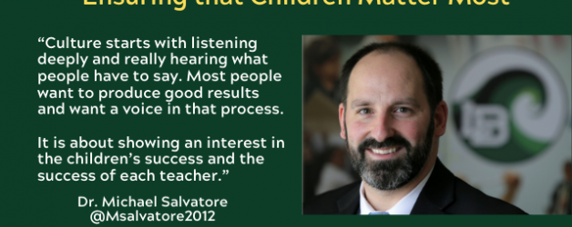 Episode #88: Ensuring that Children Matter Most with Dr. Michael Salvatore