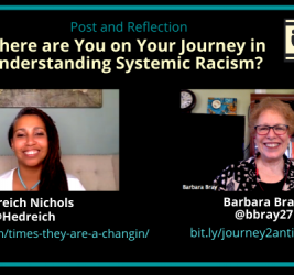 Where are you on your journey in understanding systemic racism? with Hedreich & Barbara (Reflection #6)