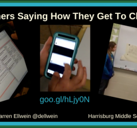 Helping Learners Say How They Get to Choose