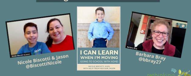 Reflection #14 on Why I Can Learn When I'm Moving with Nicole Biscotti and her son, Jason