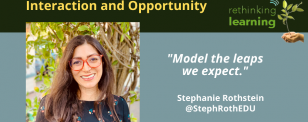 Reflection #16: Learning from Every Interaction and Opportunity with Stephanie Rothstein