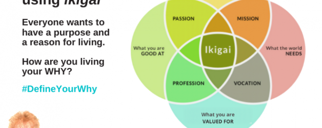 Defining Your WHY using ikigai
