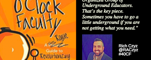 Episode #16: Professional Learning going ROGUE with Rich Czyz
