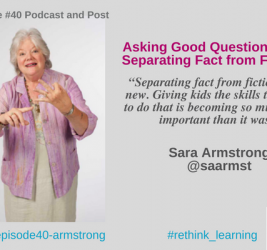 Episode #40: Asking Good Questions and Separating Fact from Fiction with Sara Armstrong