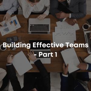 Building Effective Teams course