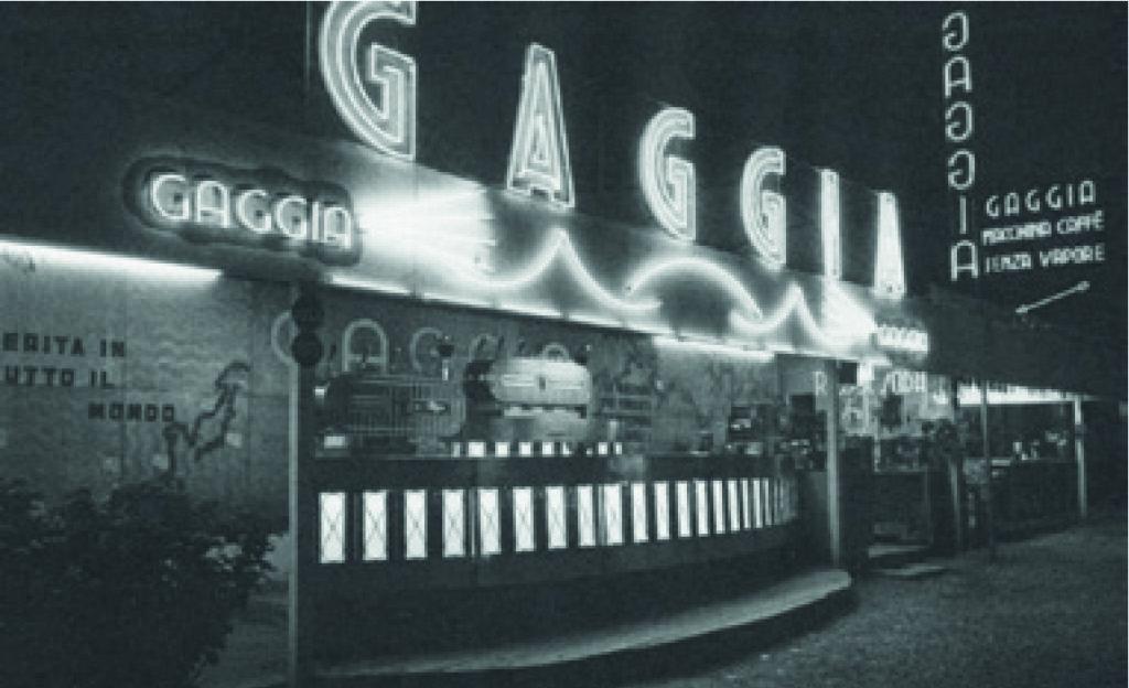 Gaggia - Photo historique