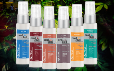 Announcing a NEW Line of Powerful CBD and Botanical Sublingual Mist with Proprietary PSM Technology
