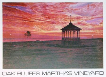 LaRoche, Gazebo Oak Bluffs - artprint