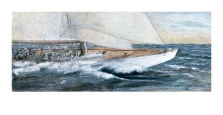 Fran Morey, Flying Boat Reaching