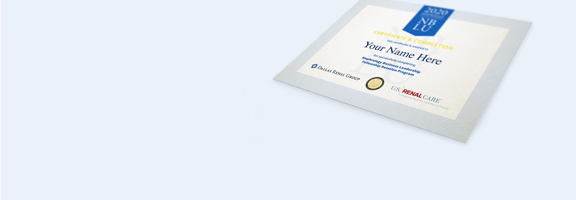 Nephrology Business Leadership Homepage Slider