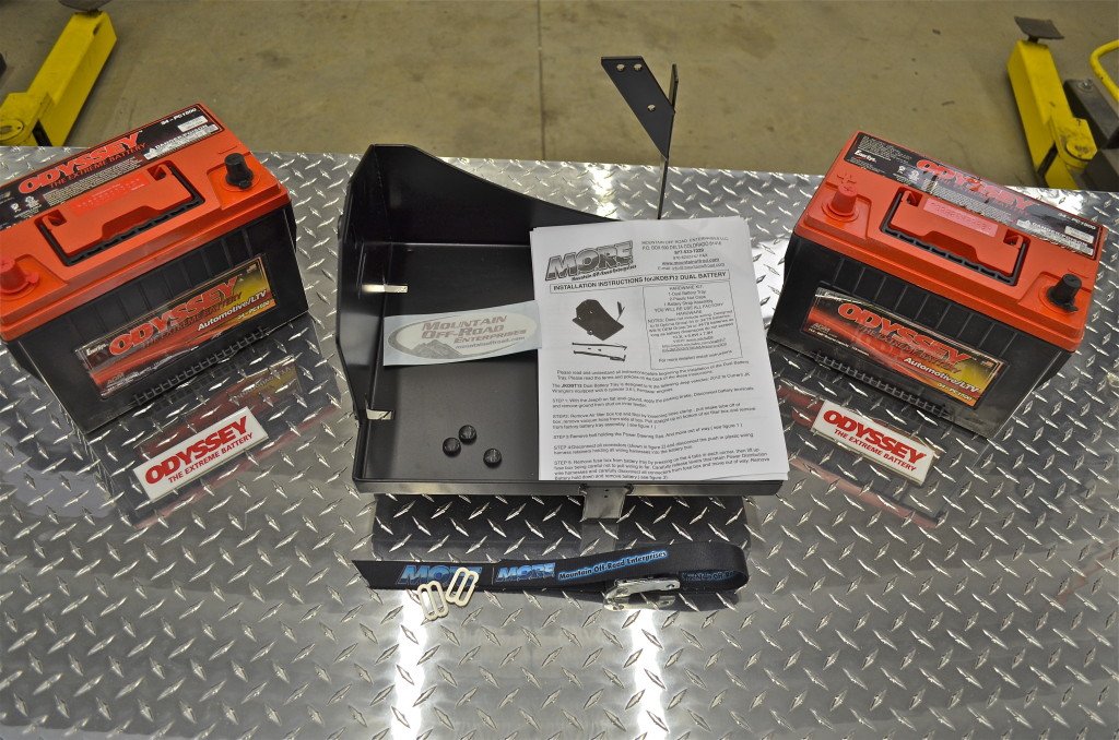 JK Dual battery kit from MORE and Odyssey