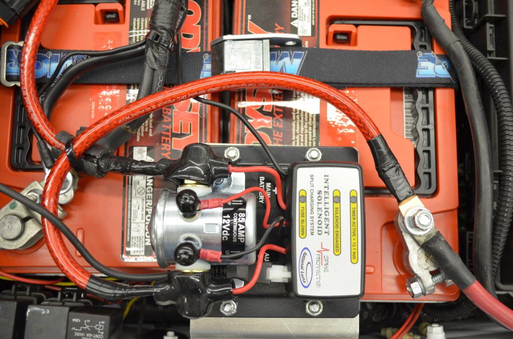 National Luna Intelligent Battery Solenoid Installed 2012 JKU