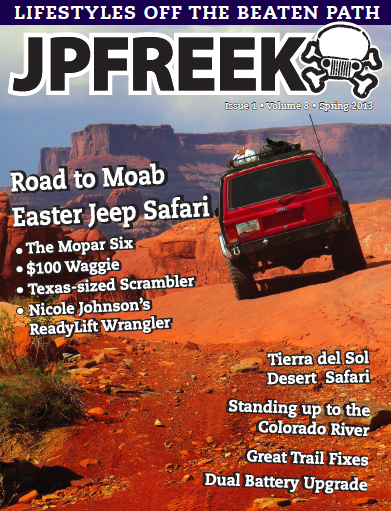 JPF 2013 Spring Issue Cover