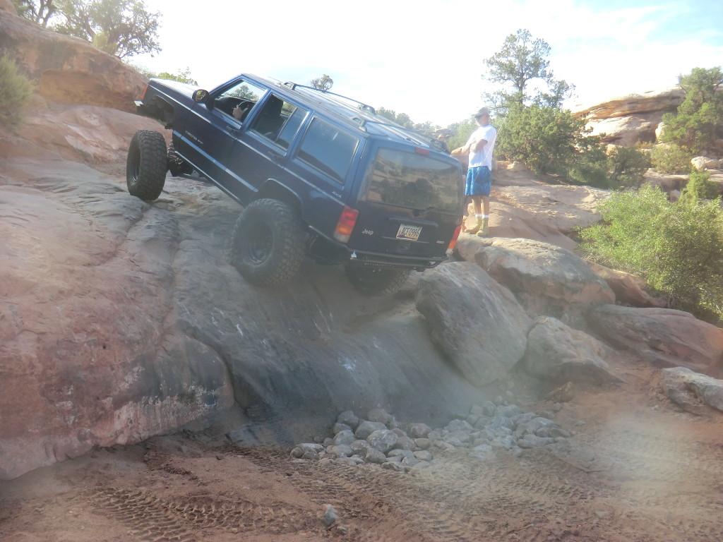 Q. Trifecta Scott on last rock ledge