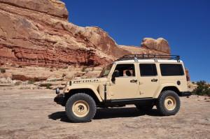 Concept Jeep Wrangler Africa