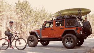 Rugged Ridge Exo-Top with MTB and Kayak