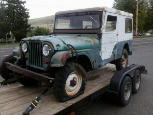 Factory Diesel CJ-6 Before