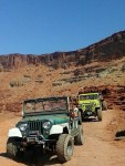 Getting used again in Moab.