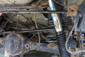 AEV rear suspension