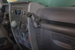 DIY Jeep Wrangler JK grab bar RAM ball mount for less than $12