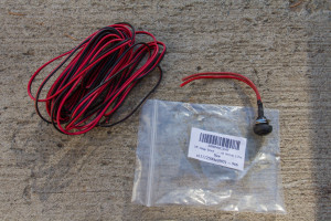 Small momentary switch and wire from amazon
