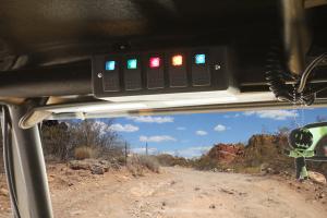 Daystar Roll Bar switch panel KU72004BK_installed_2