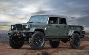 Jeep Concepts Crew Chief concept