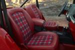 Sweet plaid Jeep Shortcut interior