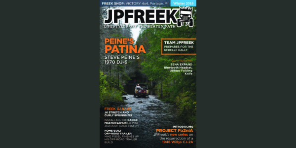 JPFreek Winter 2016 Issue