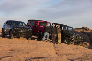 The Jeep Lion's Back team