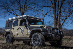 Africa bound JK with BFgoodrich KO2 All-Terrain 34x10.5r17 tires