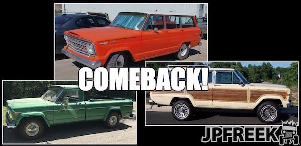Jeep is bringing back the Wagoneer, Grand Wagoneer, and a Jeep Pickup Truck