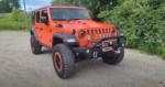 ExtremeTerrain Orange Crush 2018 Jeep JLU build