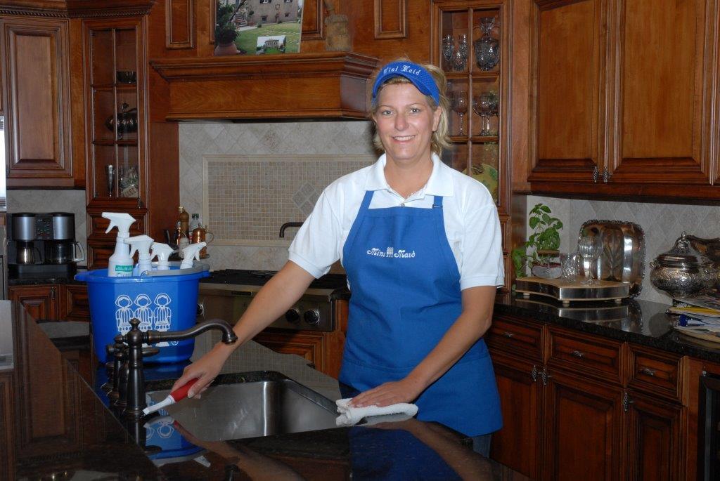 Karen in kitchen wide