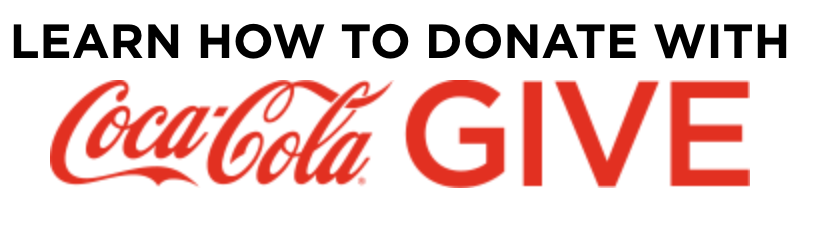 Learn how to donate with Coca-Cola Give