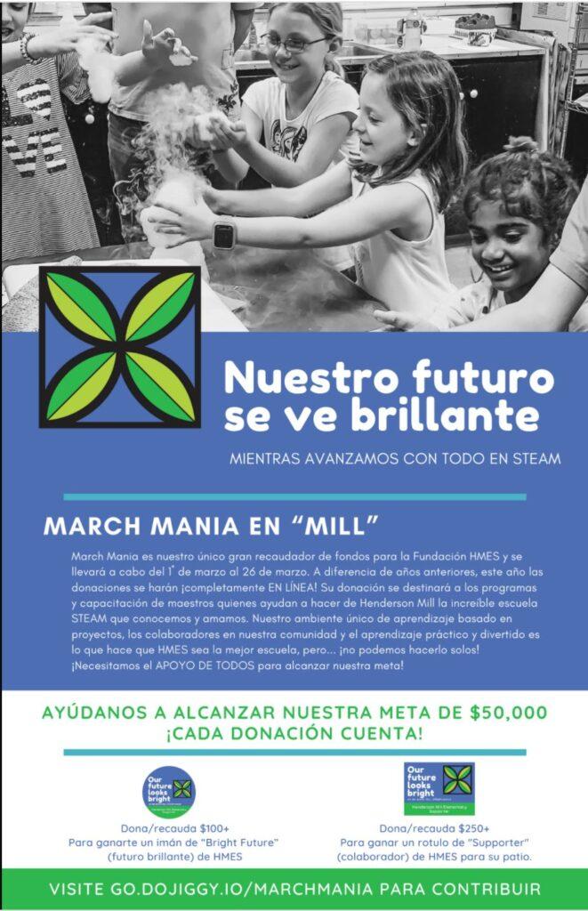 2021 March Mania Spanish