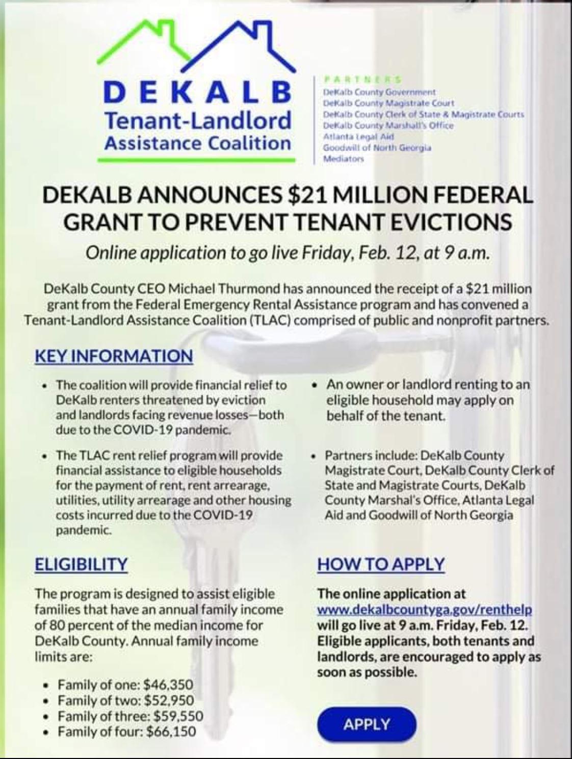 DeKalb Tenant-Landlord Assistance Coalition