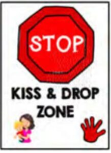 Kiss and Drop Zone