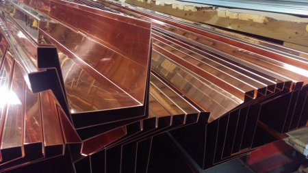 copper shop fab gutter