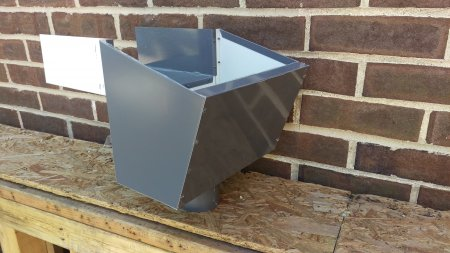 Scupper with Sleeve (Open Top)