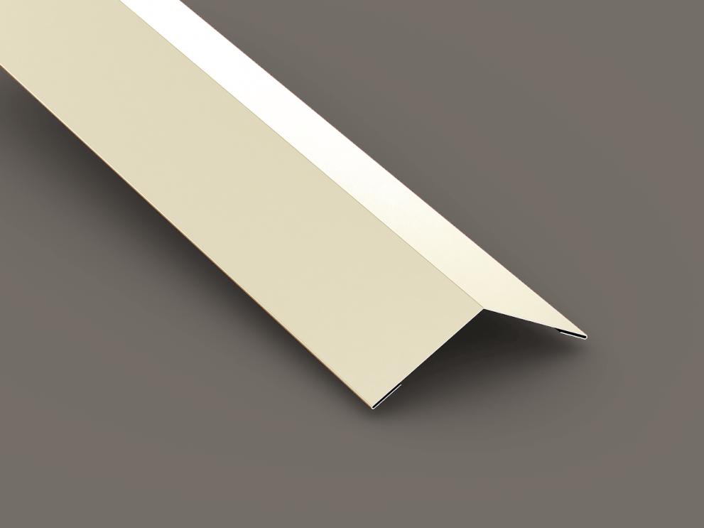 Steep slope roof hip & ridge flashing