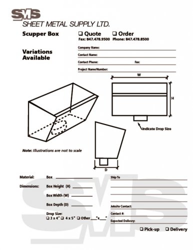 Scupper Box