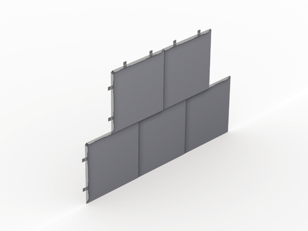 Flat Lock Wall Tiles