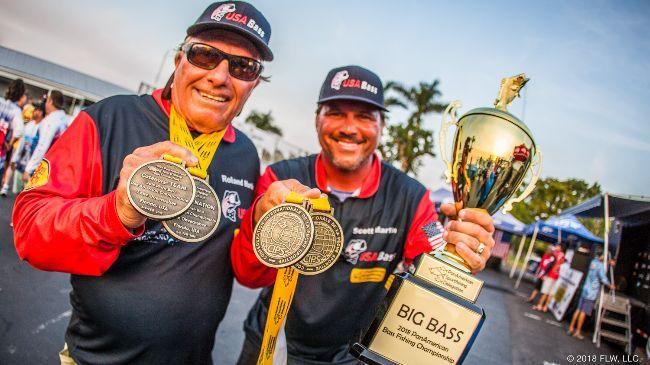 USA Bass Team 2019 World Champions!